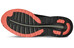 asics fuzeX Shoe Women Aluminum/Flash Coral/Black